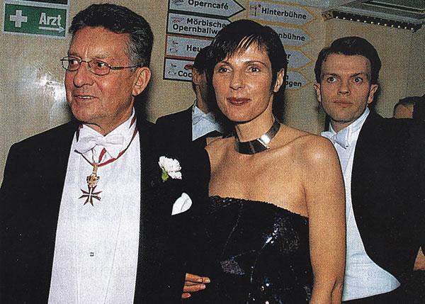 Helmut Elsner beim Opernball