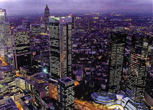 Banken - zu groß dimensioniert - Frankfurt am Main.