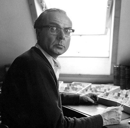 Arno Schmidt Portrait
