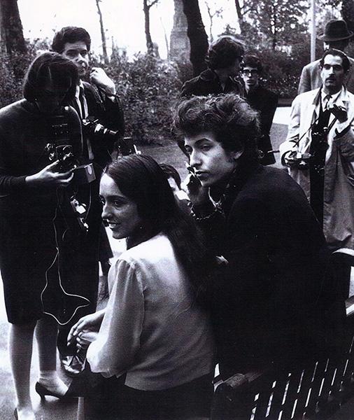 Bob Dylan und Joan Baez 1965