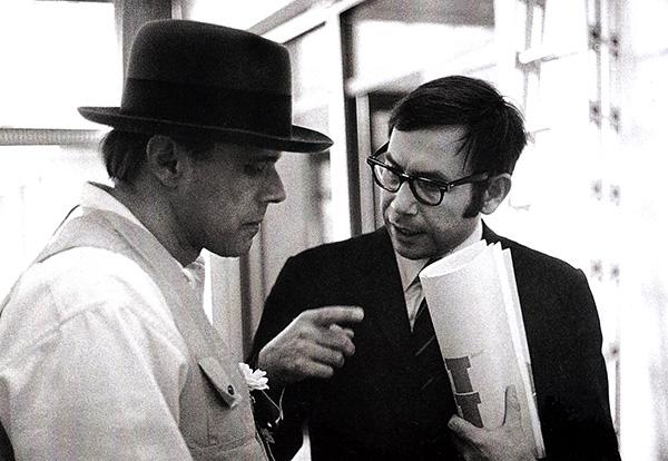 Joseph Beuys und Willy Bongard, 1969